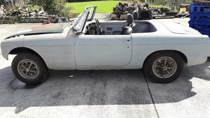 1976 MG B Roadster Restoration Project For Sale by Auction