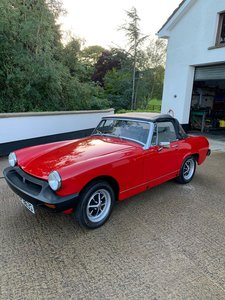 **OCTOBER ENTRY** 1978 MG Midget 1500 For Sale by Auction