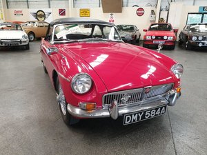 **OCTOBER ENTRY** 1963 MG B Roadster For Sale by Auction