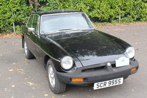 1977 MG B GT 1978 - To be auctioned 30-10-20 For Sale by Auction