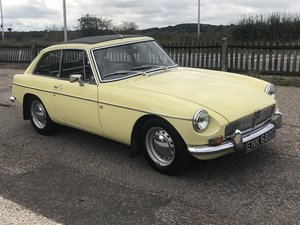 Picture of 1968 MGB GT in primrose SOLD