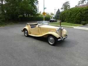 1953 MG TD Older Restoration Nicely Presentable -