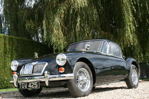 1962 MGA MK2 Coupe in Stunning Order Throughout. 5 Speed.  For Sale