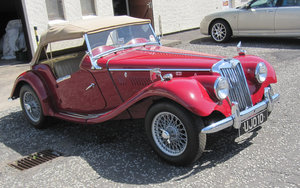 *REMAINS AVAILABLE* 1953 MG TF