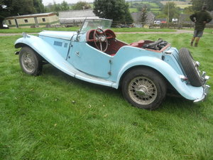 Picture of 1955 MG TF 1500cc US Import LHD Rust free classic car For Sale