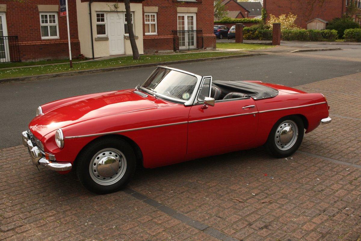1968 Mk1 MGB Roadster - Tartan Red, Disc Wheels - Older Resto SOLD (picture 5 of 6)