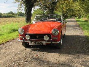 1973 MG Midget (rwa)