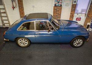 1970 MG C GT University Motors MG Special
