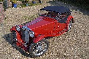 1936 MG TA CWE398 Reno Red £27,500