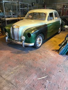 1955 MG Magnette for auction 19th September For Sale by Auction