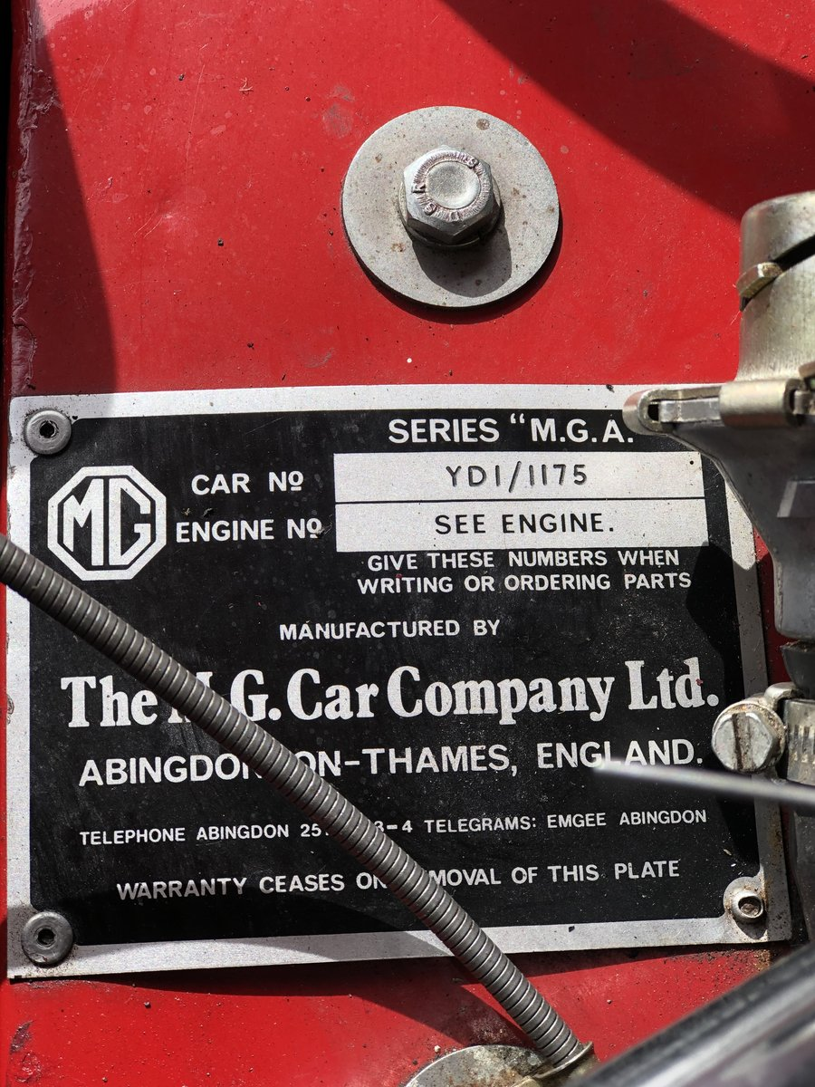 1959 MGA Twin Cam Roadster For Sale (picture 6 of 6)