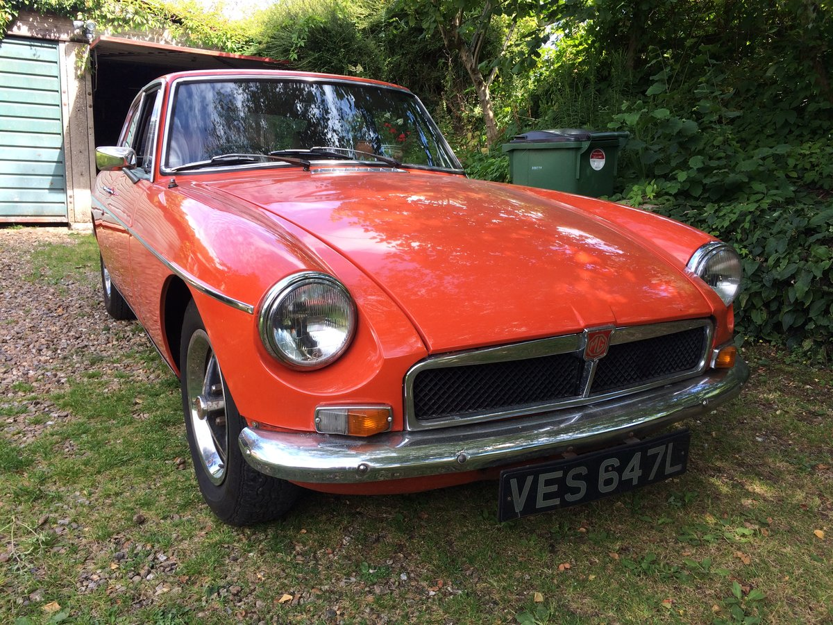1972 MGB GT running and driving project For Sale (picture 1 of 6)