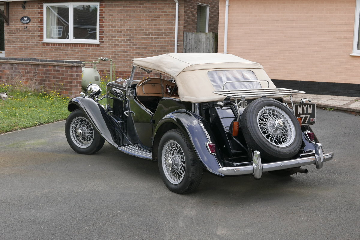 1950 MG TD For Sale (picture 2 of 5)