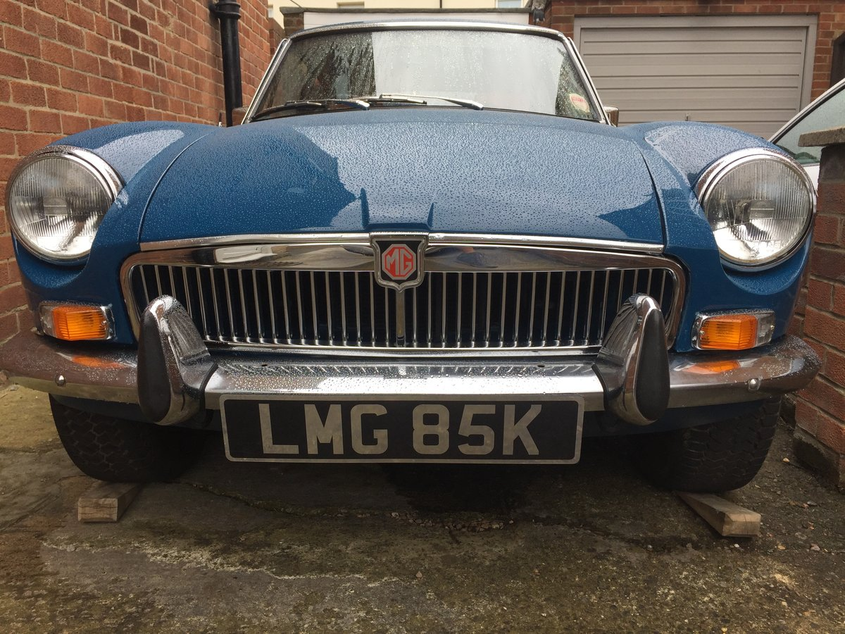 1972 MG B GT - recent restoration -  For Sale (picture 5 of 6)