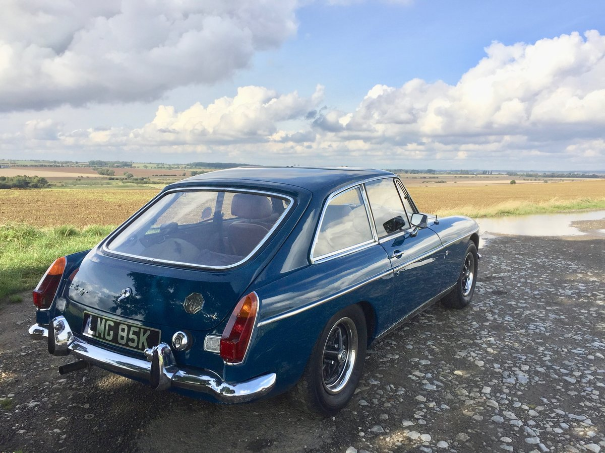 1972 MG B GT - recent restoration -  For Sale (picture 1 of 6)