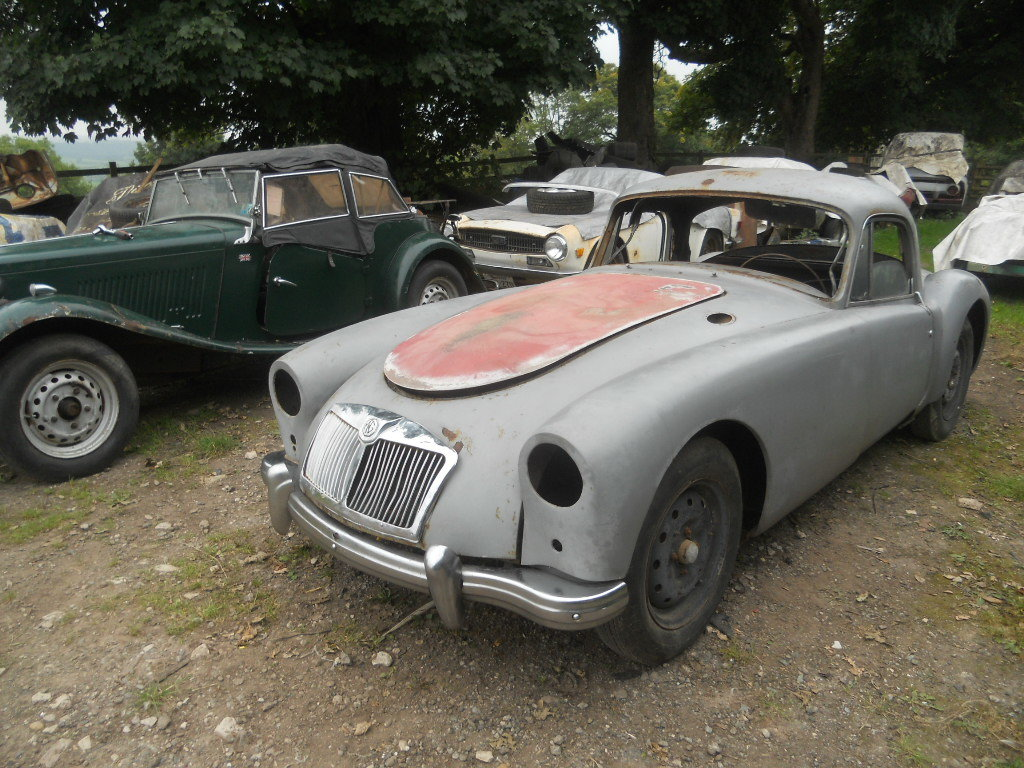 1957 MGA Coupe US Import Rust Free for Restoration  SOLD (picture 1 of 6)