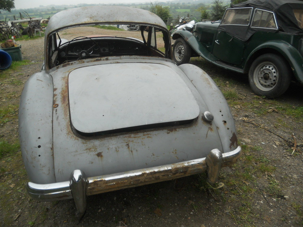 1957 MGA Coupe US Import Rust Free for Restoration  SOLD (picture 5 of 6)