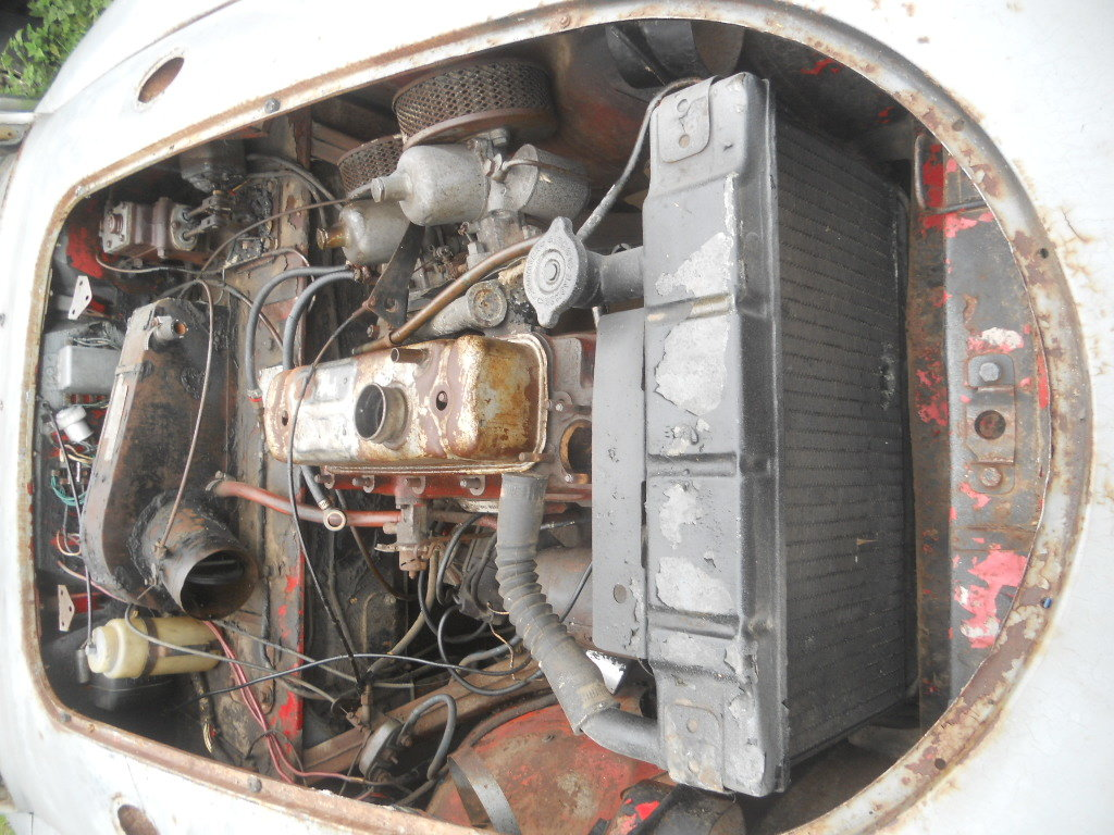 1957 MGA Coupe US Import Rust Free for Restoration  SOLD (picture 6 of 6)