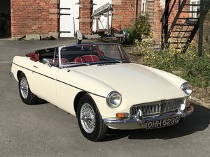 Picture of 1969 MG b roadster restored SOLD