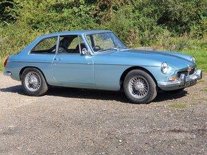 MG B GT, 1972, Blue