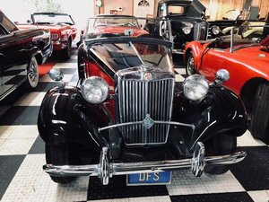 1952 MG TD Formerly Owned by Candice Bergen