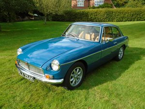 1971 MGB GT with Overdrive
