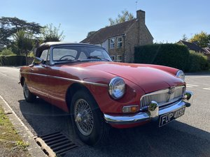 1965 MGB Roadster 'pull handle'  For Sale