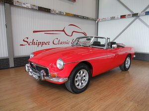 1973 MG B Tourer 1.8L Roadster with Overdrive