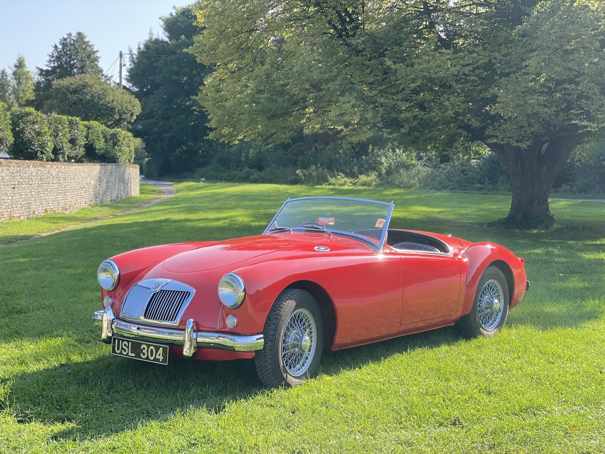 1956 MGA 1500 Roadster For Sale (picture 2 of 24)