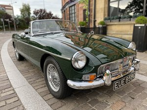 1965 MGB Roadster - Heritage Shell - Overdrive - Amazing History For Sale