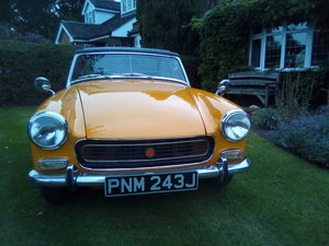 MG Midget Chrome Bumper. 1275cc