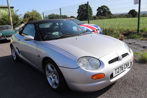 1999 MGF with only 24500 miles from new