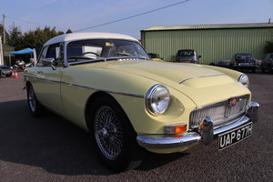 1968 MGC Roadster,UK car in Primrose For Sale