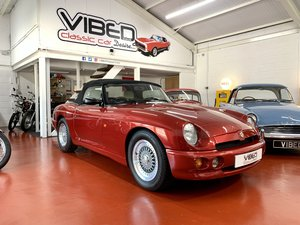 1993 MG RV8 // UK Car Nightfire Red // 3301 Miles // 2 Owners For Sale
