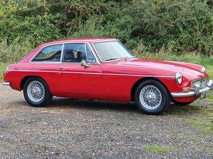 MG B GT, 1968, Oselli 1950cc, Tartan Red
