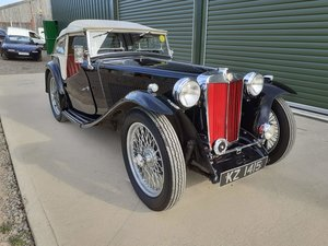 1947 MG TC XPAG lovely condition