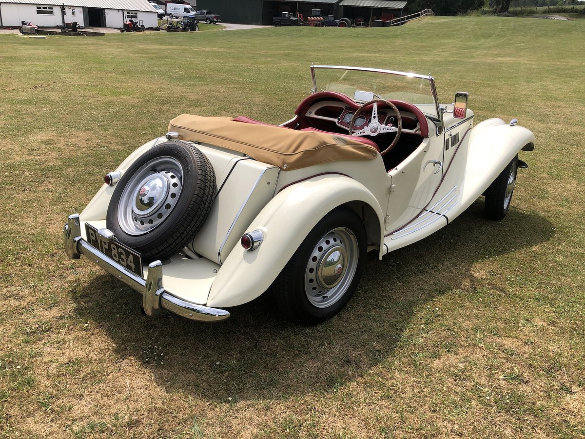 1955 MG TF For Sale (picture 9 of 22)