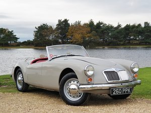Original UK RHD 1959 MG A 1600 Roadster with great history For Sale