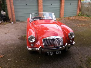 MGA Twin Cam in mint condition