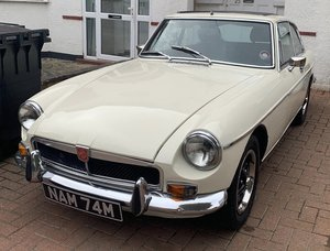 chrome bumper MGB GT