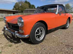1972 MG Midget MkIII offered by Mike Authers Classics !td.