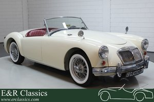 MG MGA Cabriolet 1959 Old English White For Sale