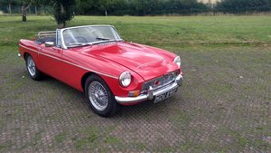 1968 Rare MGC Roadster, Very Good Condition