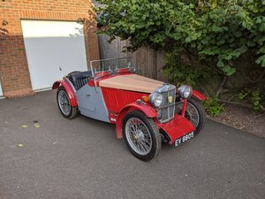 MG J2 Cycle Wings - Ford Engine & Gearbox