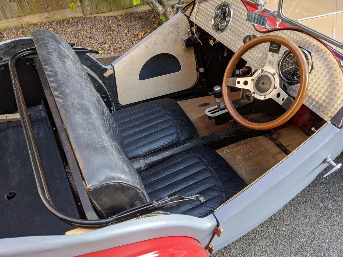 1932 MG J2 Cycle Wings - Ford Engine & Gearbox For Sale (picture 3 of 6)