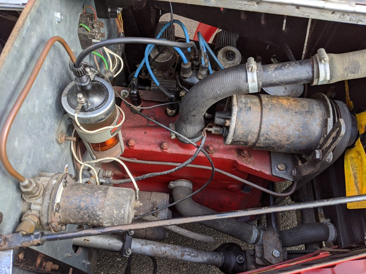 1932 MG J2 Cycle Wings - Ford Engine & Gearbox For Sale (picture 4 of 6)