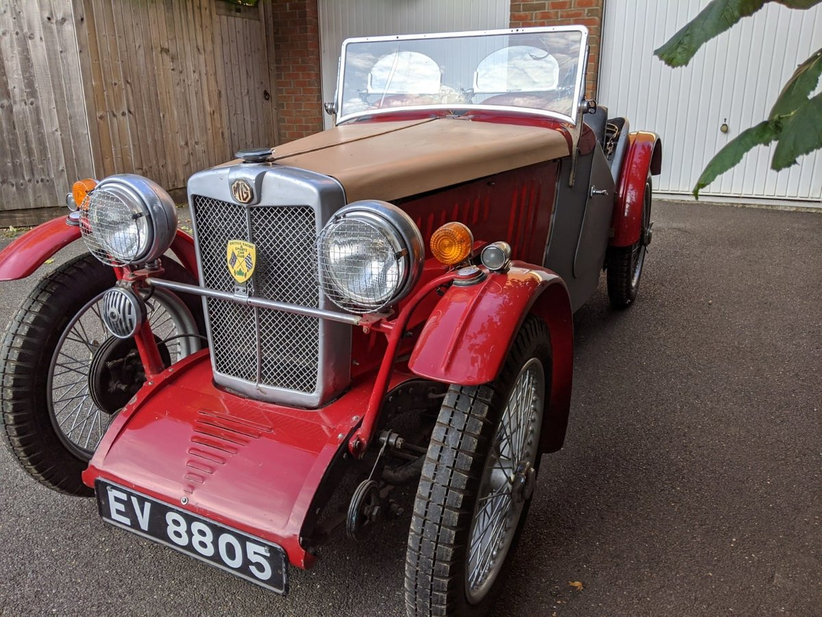1932 MG J2 Cycle Wings - Ford Engine & Gearbox For Sale (picture 6 of 6)