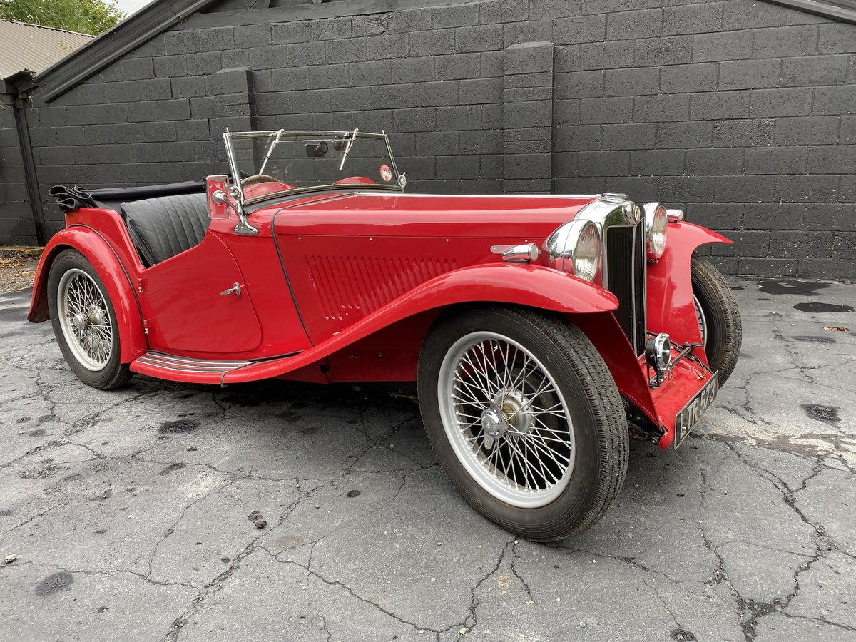 1937 MG TA Original engine & VSCC eligible SOLD (picture 1 of 7)