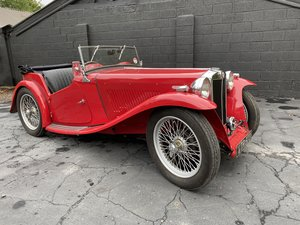 1937 MG TA Original engine & VSCC eligible