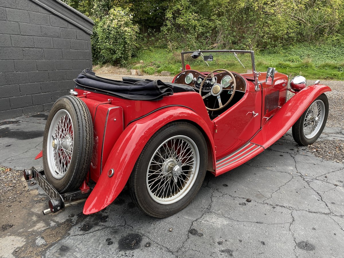 1937 MG TA Original engine & VSCC eligible SOLD (picture 2 of 7)